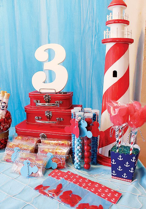nautical party lighthouse decorations