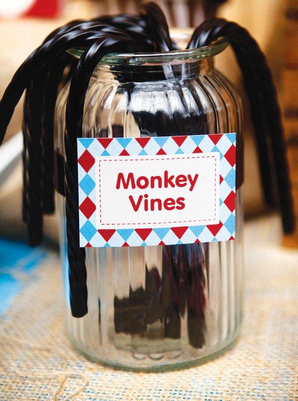 monkey party snacks