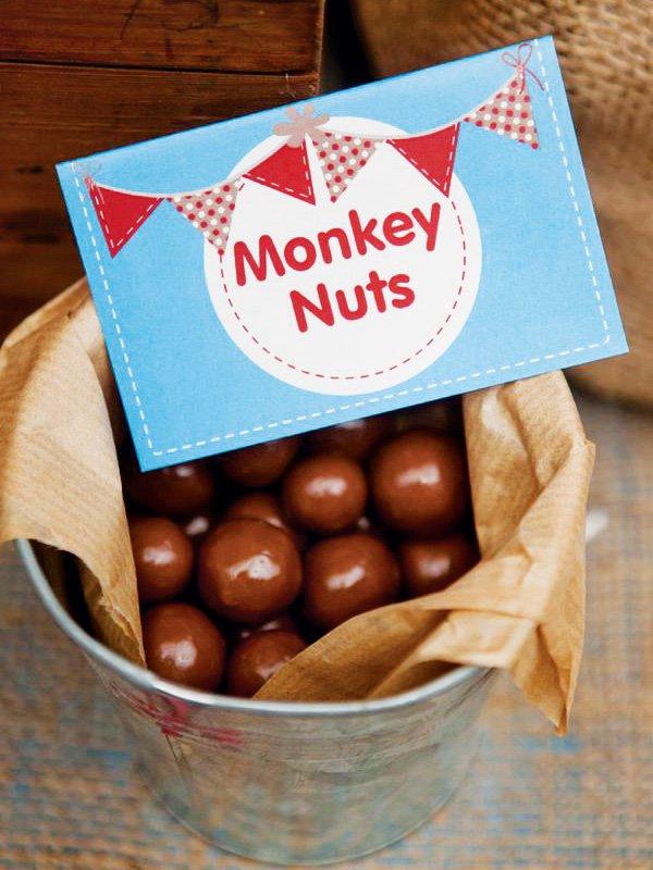 monkey party candy ideas