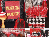 moulin rouge 30th birthday party ideas