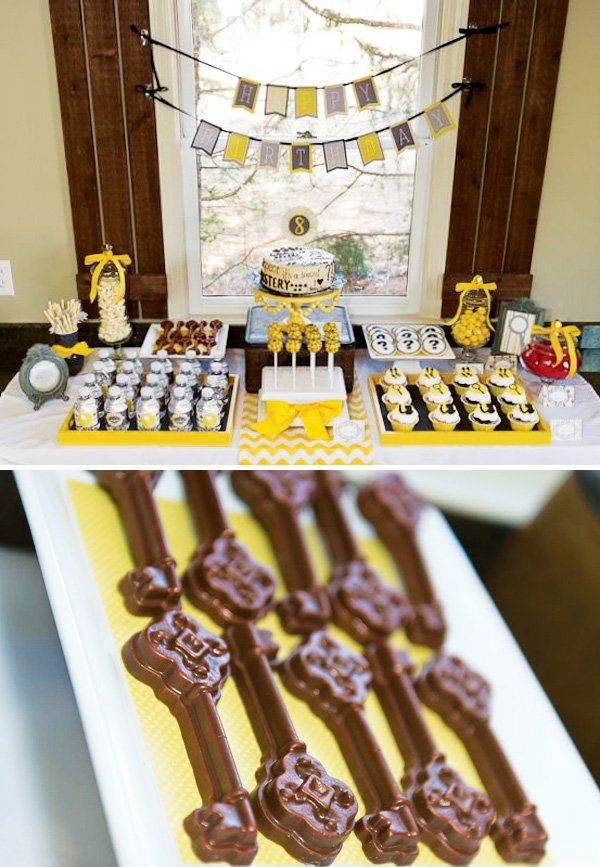 nancy drew dessert table