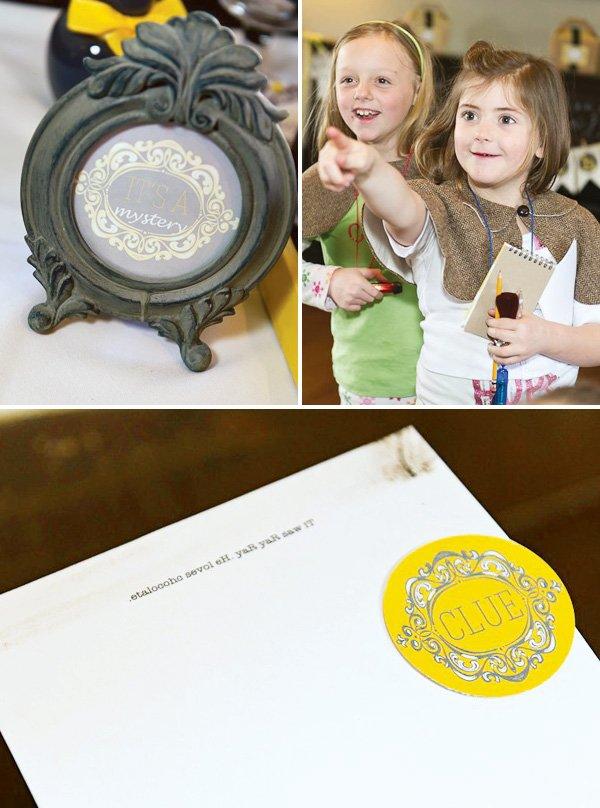 nancy drew mystery activity clues