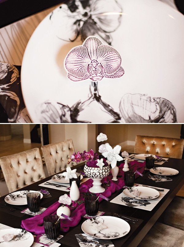 orchid party ideas