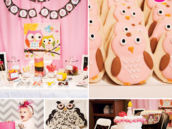 owl first birthday