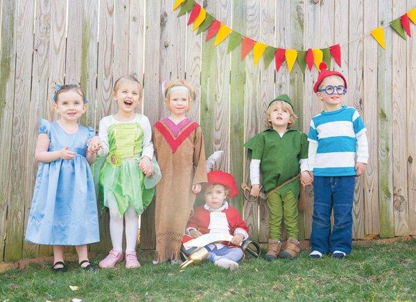 peter pan kids costumes