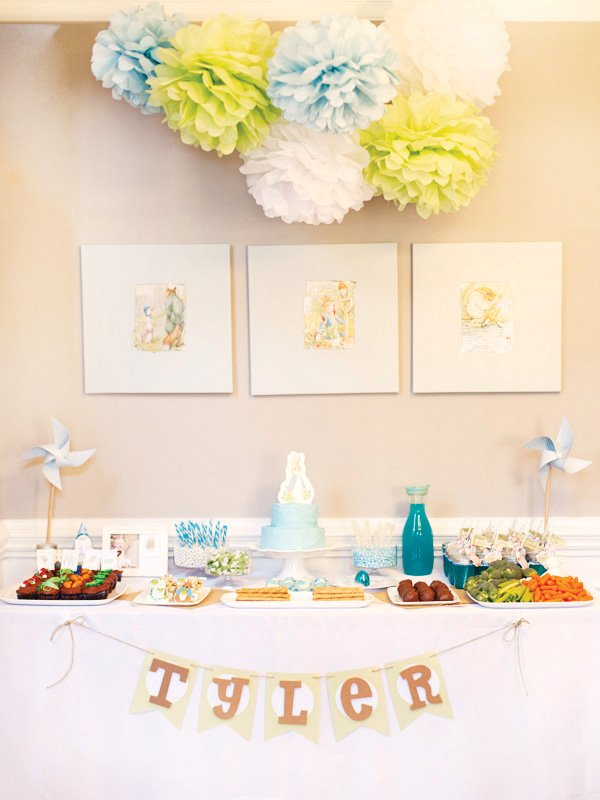 Sweet Peter Rabbit First Birthday Party Hostess With