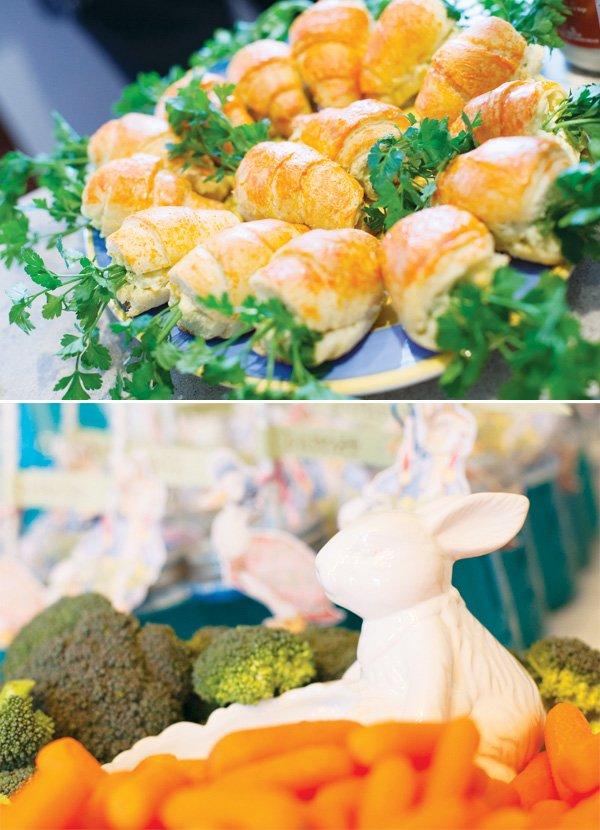 peter rabbit party food