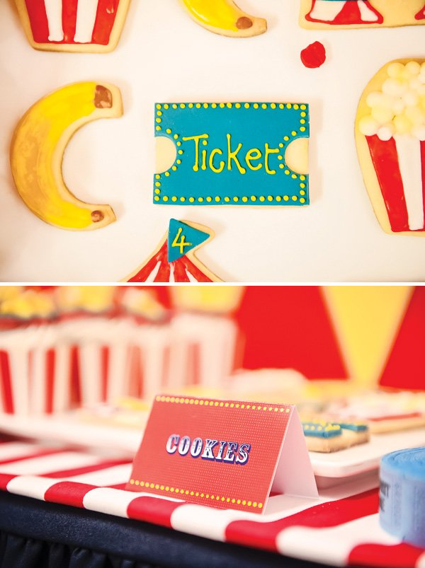 popcorn and banana sugar cookies
