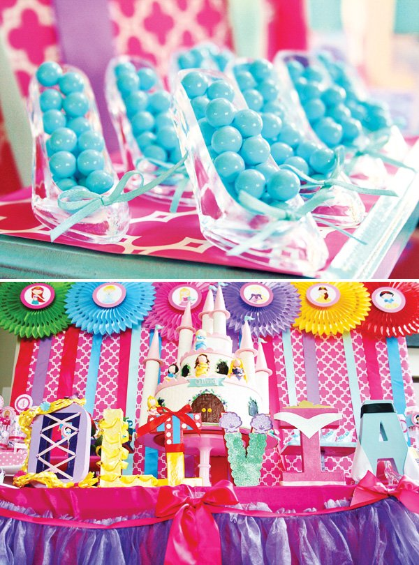 Colorful Disney Princess Party Ideas Hostess With The Mostess