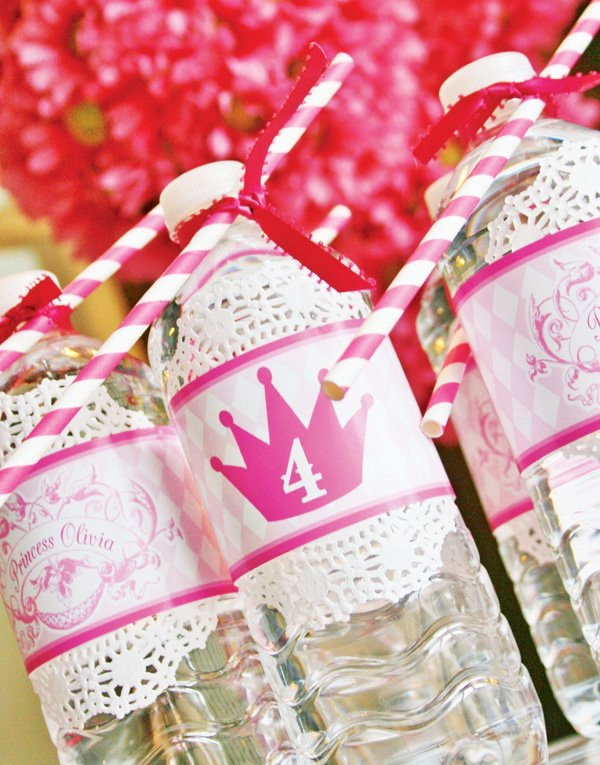 princess water bottles