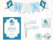royal baby shower prince baby shower printables collection from hostess ink