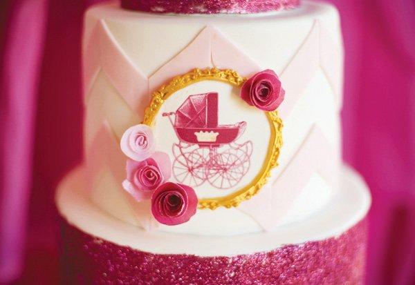 royal carriage cake