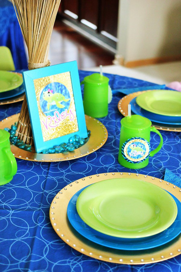 sea turtle party ideas