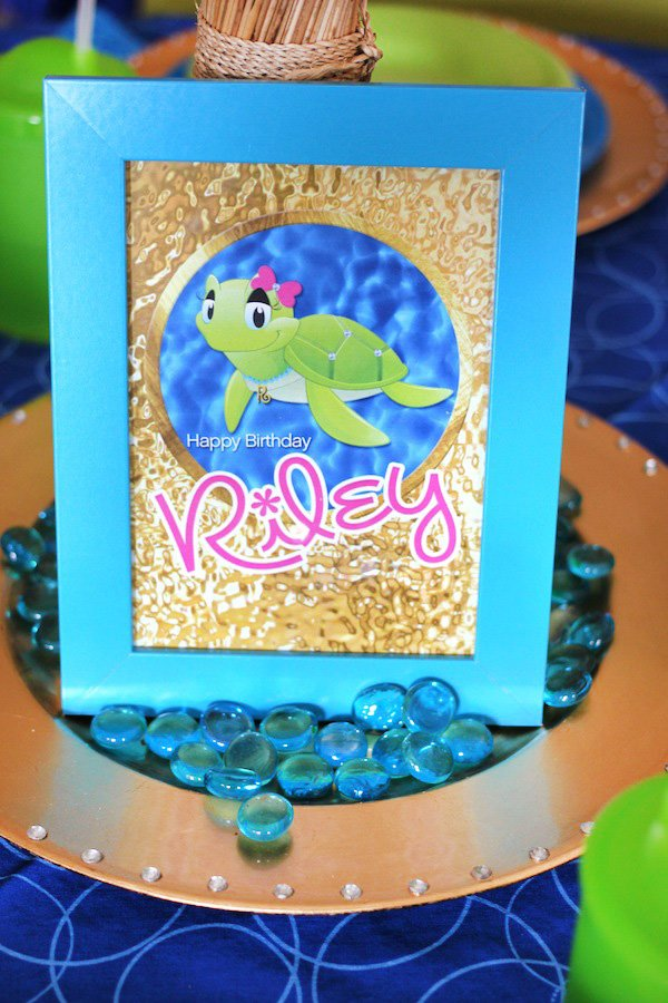 sea turtle party printables