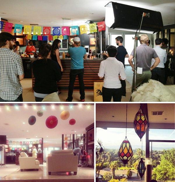 cinco de mayo video shoot