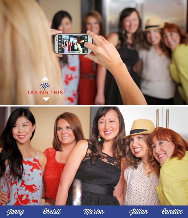 Sauza Blue Video Shoot - Party Guests