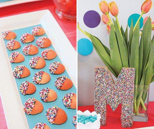 sprinkle party cookies