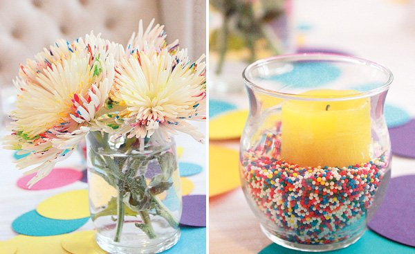 sprinkle party decorations