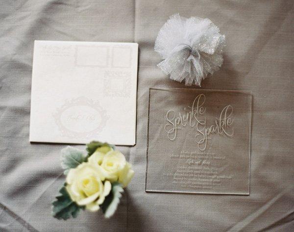 sprinkle sparkle invitation