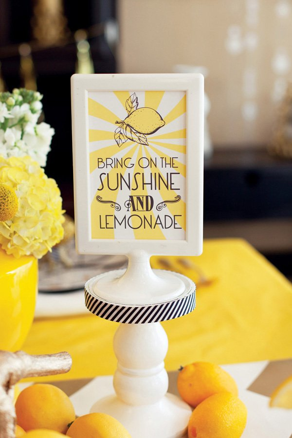 sunshine and lemonade free printables