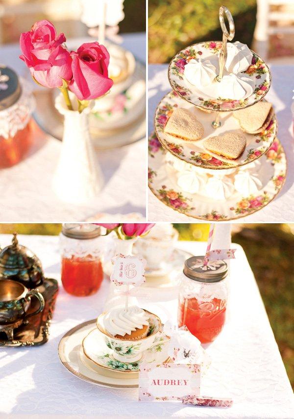 tea party heart sandwiches