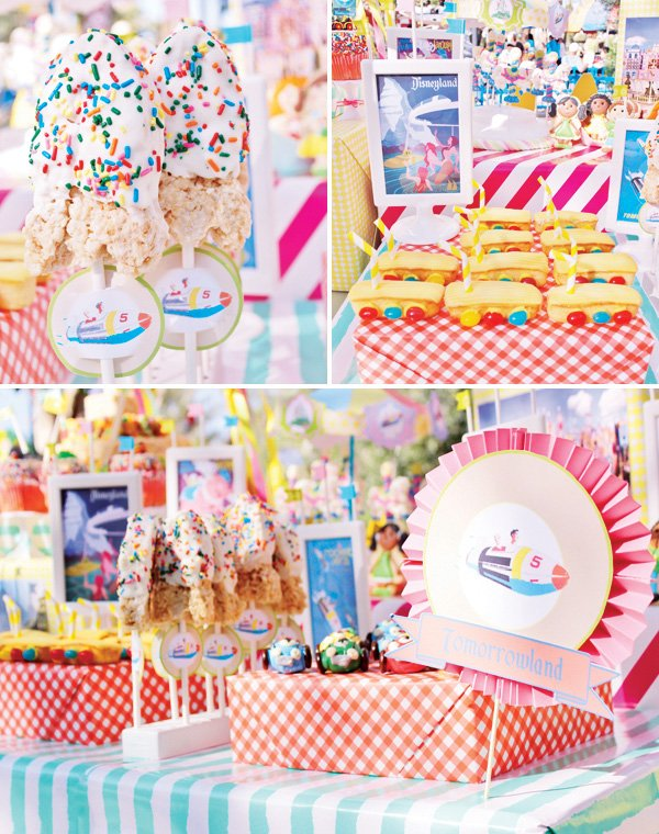 tomorrowland ideas for a disneyland themed party