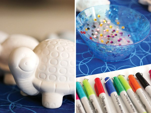 turtle decorating materials