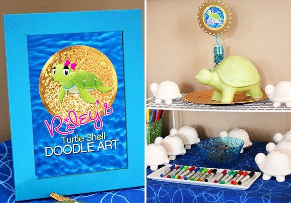 turtle doodle art