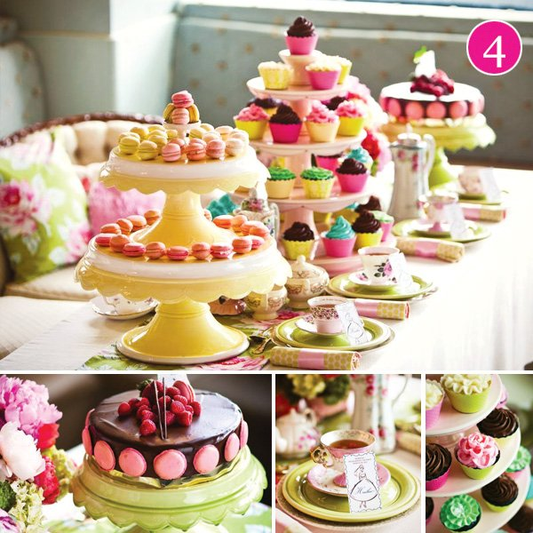 tuscan tea party ideas