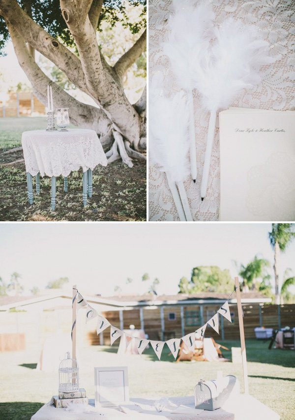 vintage wedding notes