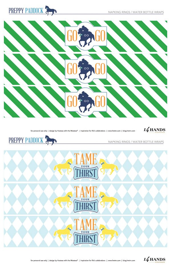 It's just an image of Soft Kentucky Derby Printables