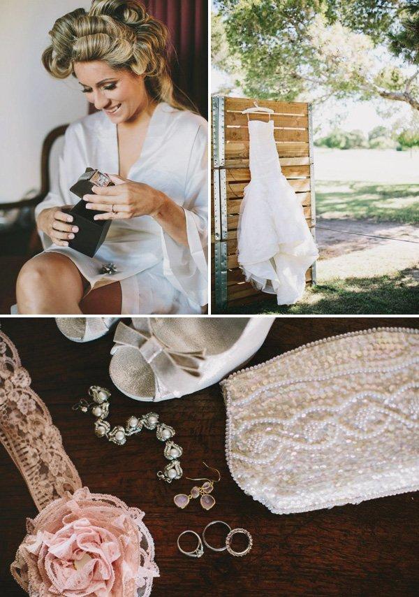 Wedding Dresses Yuma Az : Beautiful vintage inspired backyard wedding hostess