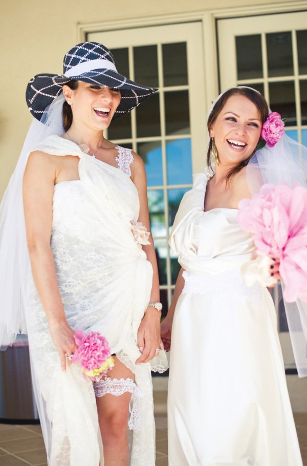 wedding dress game for a bridal shower