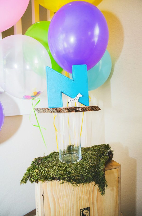 wild balloon party ideas