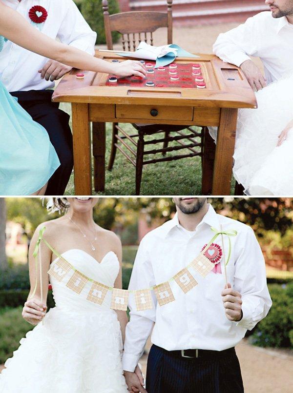 """Wedding """"Winning"""" bunting"""