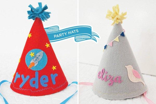 felt party hats
