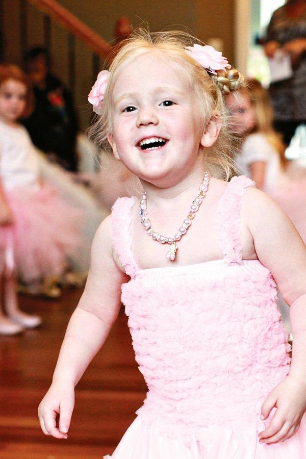 ballerina birthday girl