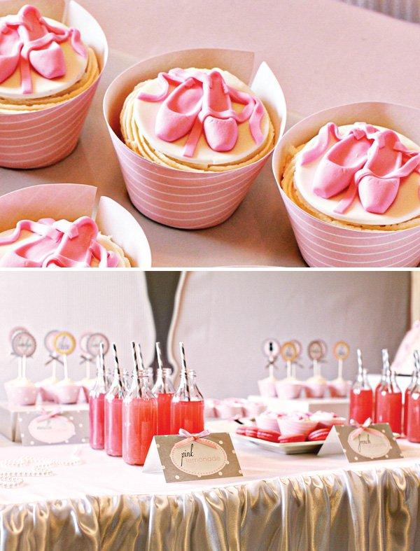 ballerina dessert table ideas