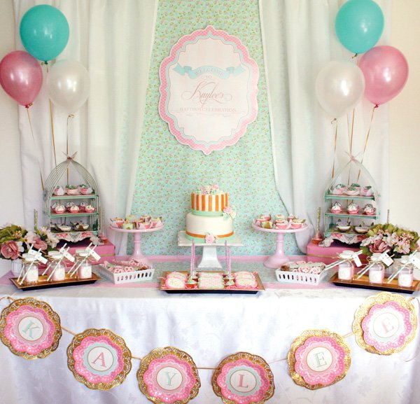 baptism party ideas