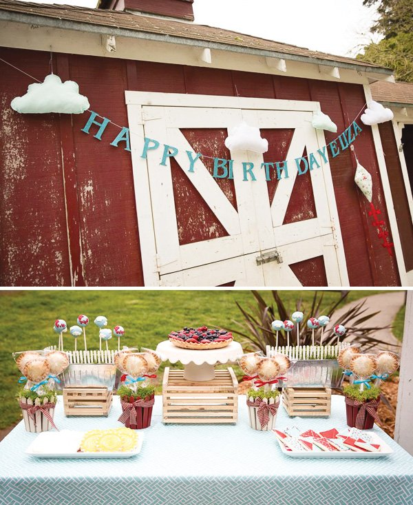 Vintage Barn Party Decorations
