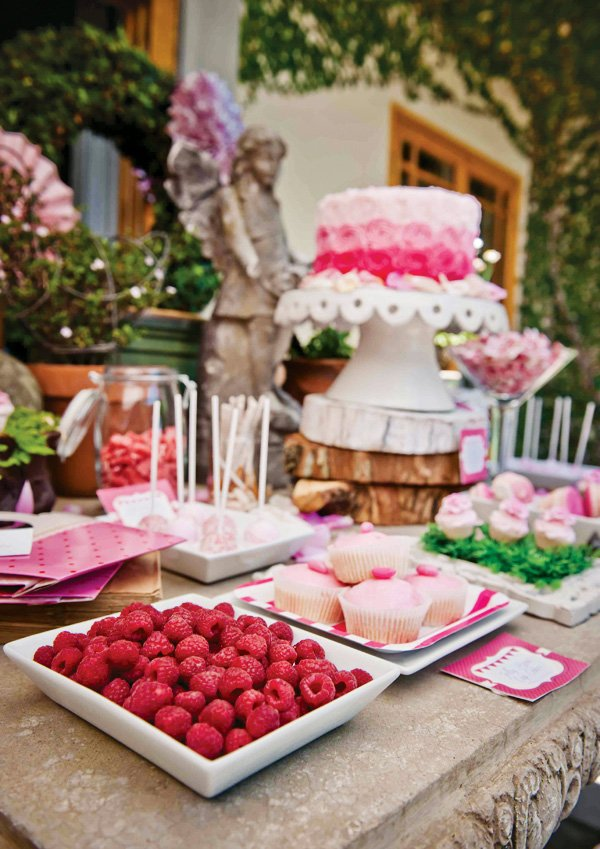 birthday dessert table