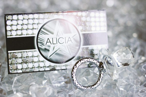 bling place card
