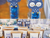 blue owl party candy