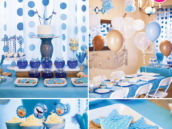 blue under the sea teen party