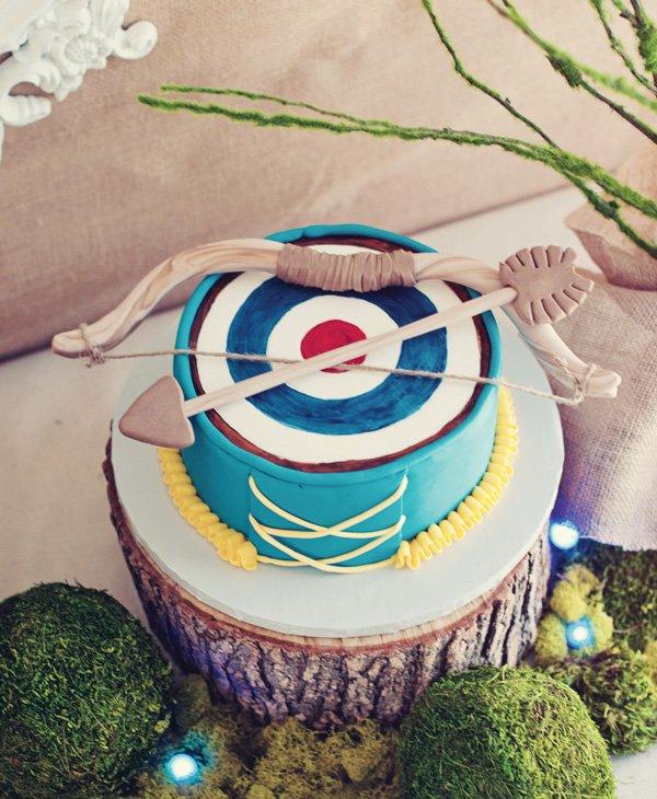 brave inspired cake