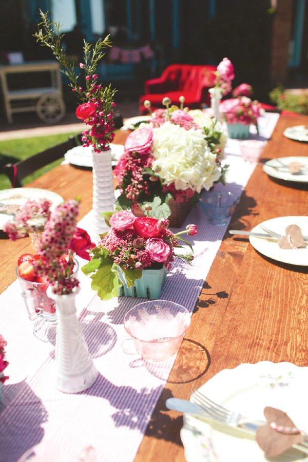 Sweet Summery Berry Themed Bridal Shower Hostess With The Mostess