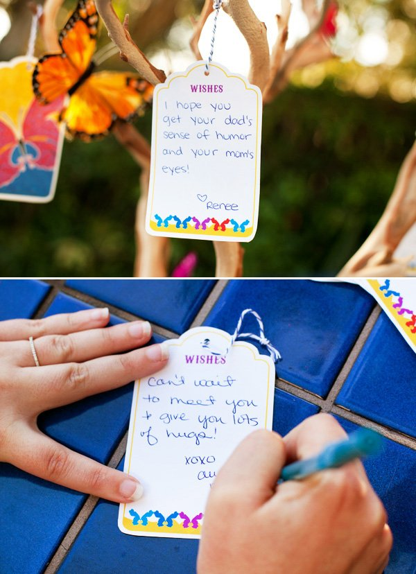 how to make a baby shower wishing on hwtm