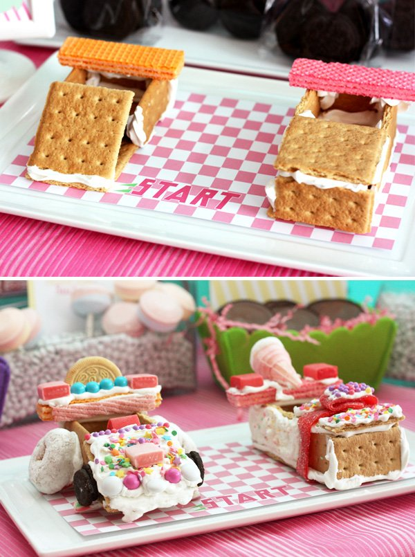 graham cracker car decorating