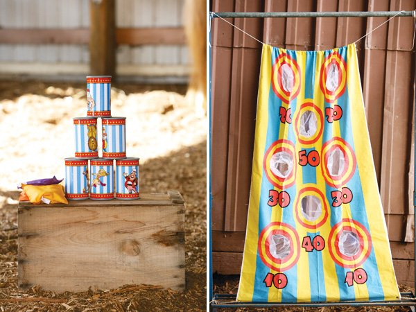 carnival games for a first birthday party
