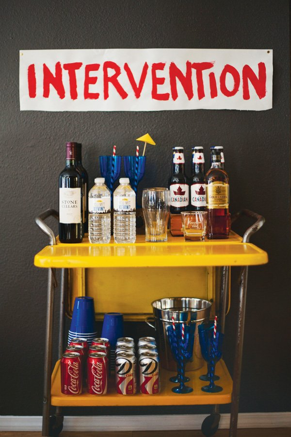 intervention drink station